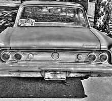 1962 Mercury -back full B&W by henuly1
