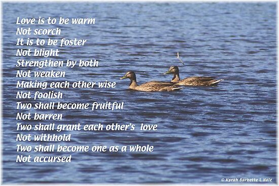 Love is to be by DreamCatcher/ Kyrah Barbette L Hale