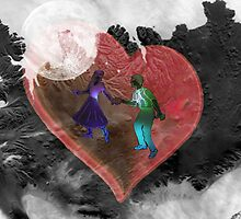 Moon dance by haya1812