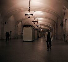 Leaving Grand Central Terminal by Mary Ann Reilly