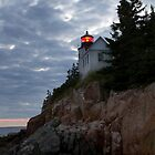 Bass Harbor Head Lighthouse Illuminated by Mark Van Scyoc