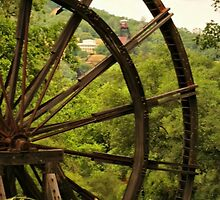 Kennedy Mine Tailing Wheel by Barbara  Brown