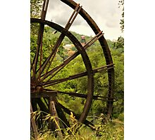 Kennedy Mine Tailing Wheel Photographic Print