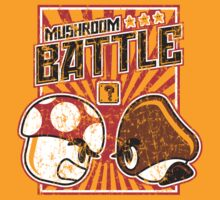 Mushroom Battle by freeagent08