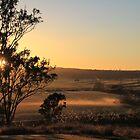 Sunrise over the Creek by Kahlia Huddleston