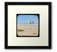 Monday Morning Surf - TTV Framed Print