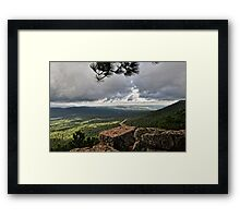 View from the Rim  Framed Print