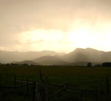 Stormy Day in Heber Valley, Utah. by JoAnn Glennie