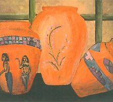 Three Vases by Aldonia