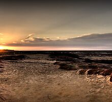 Hilbre Island Sunset by Shinobu