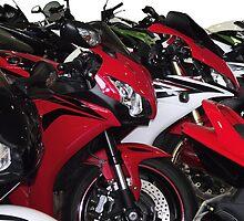 Motor Bikes by Dawnsuzanne
