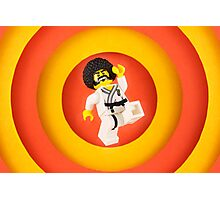 Afro Karate Guy Photographic Print