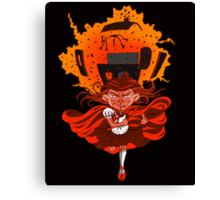 Don't mess with Lil' Red!  Canvas Print