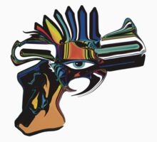 Gun & Eye by fineline