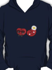 Bride & Groom Cheeky Cherries T-shirt T-Shirt