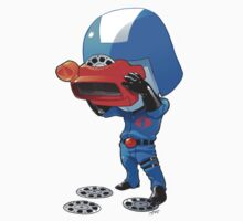 Cobra Commander with 80's viewmaster by dormworld