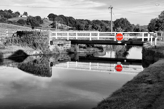 The Swing Bridge by Colin Metcalf