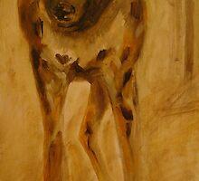 African wild dog. by Adriennea