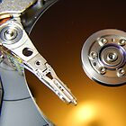 Laptop Hard Drive by Peter Green