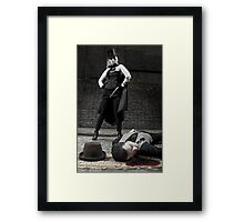 Ripper and Victim Framed Print