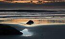 Ocean sunrise, Gold Coast by Odille Esmonde-Morgan