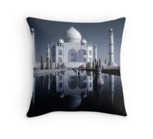 Taj Mahal, infra red. Throw Pillow