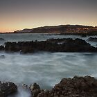 Dawn at Tarakena Bay by Brendon Doran