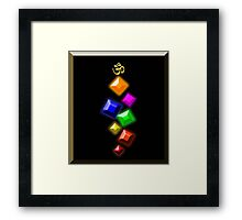 The Jewels of Om Framed Print