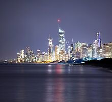 A Surfers Paradise Evening by Reginadez