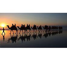 """Sunset Stroll"" Photographic Print"