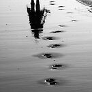 Walk the Line - Footsteps in the Sand by Kutor