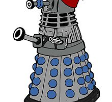 Dalek doctor who fez's are cool by Scott Barker