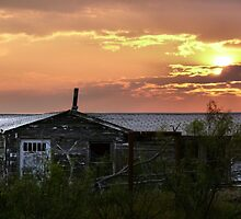 Summer Sunset in West Texas  ~2 by Carla Jensen