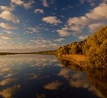 Reflections on the lake  by FLYINGSCOTSMAN