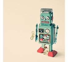 Robot Photographic Print