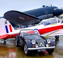 Morgan - Chipmonk - DC3 - Shoreham Airshow 2010 by Colin J Williams Photography