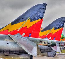 Harrier GR9s - HDR - Shoreham Airshow 2010 by Colin J Williams Photography