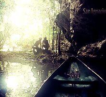 Tunnels in Belize by Matt Martin