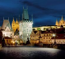 Charles Bridge, Prague by Stevacek