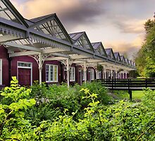 Strathpeffer Spa Victorian station by John Ellis