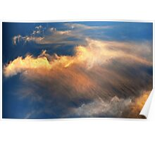 Cloudscape, Sunset Clouds Poster