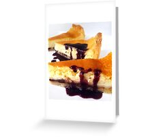 The ultimate Cheesecake Greeting Card
