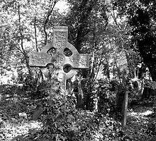 Highgate Cemetery (East) by Alan Keegan