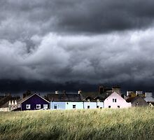 storm clouds over Allonby by David Robinson