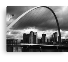 The Storm on the Tyne(is all mine all mine) Canvas Print