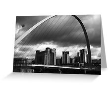 The Storm on the Tyne(is all mine all mine) Greeting Card
