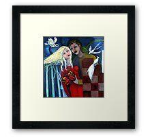 In the Still of the Night Framed Print