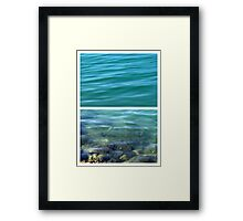 You can see the bottom - Diptych Framed Print
