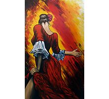 flamenco lady Photographic Print
