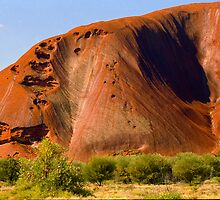 The Face of Uluru by Ronald Rockman